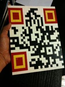 LEGO QR code